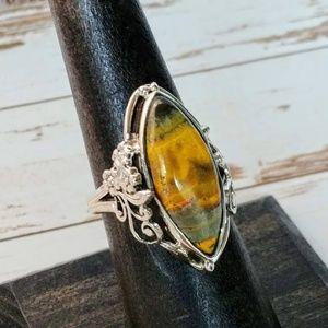 Bumble Bee Artisan Ring